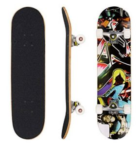 """Ancheer 31"""" Pro Skateboard Complete"""