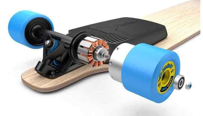 Electric-skateboard-wheel-quality