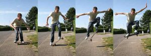 Ollie-skateshouse_skateboard tricks for beginners