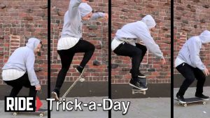 frontside180-skateshouse_skateboard tricks for beginners