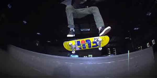 Heeflip skateboard trick