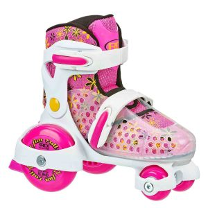 Roller Derby Girl's Roll Adjustable Roller Skate_best roller skates for kids