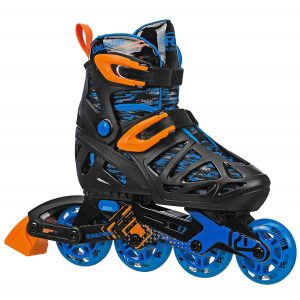 3. Roller Derby Boy's Tracer Adjustable Inline Skate_Best roller skates for kids_skateshouse.com
