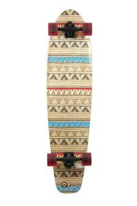 Quest Native Spirit Kick Tail Longboard Skateboard, 40-Inch_Best longboards of 2018