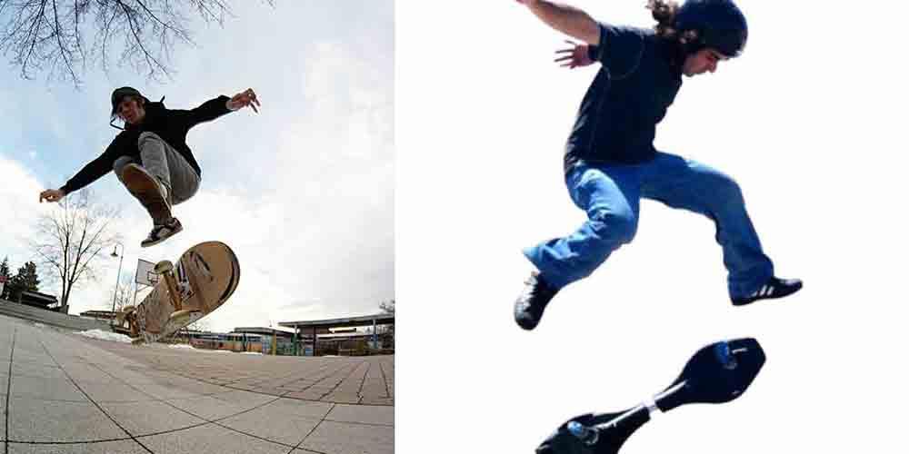 skateboard turning tricks