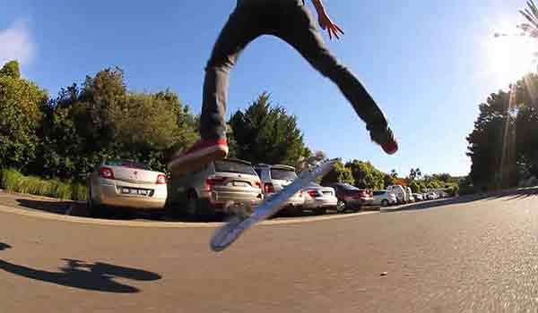 kickflip skateboard trick