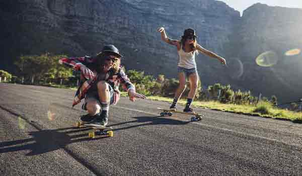 which place is suitable for skateboarding