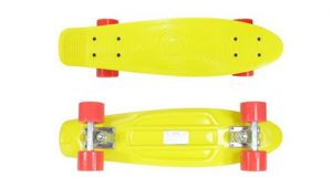 "Stereo Vinyl Cruiser Plastic Complete Skateboard (22.5*6"")_Top five best campus longboards_penny board or longboard for college_cruiser board for college_longboarding in college_best skateboard for college campus_penny board for college campus_skateboarding on college campus_longboard vs bike college_best longboard for college_ skateshouse.com"