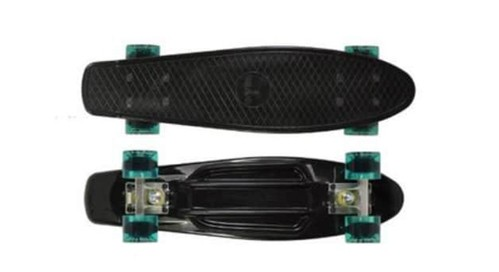 "Ridge Skateboards Big Brother Large Retro Cruiser – 27""_Top five Best Campus Longboards_penny board or longboard for college_cruiser board for college_longboarding in college_best skateboard for college campus_penny board for college campus_skateboarding on college campus_longboard vs bike college_best longboard for college_ skateshouse.com"