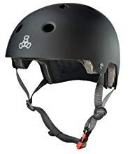 The Triple Eight Certified Brain Saver helmet will ensure your safety