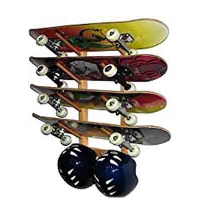 Skateboard Tool Storage Skateboard Toolbox Skateboard Organizer Skateboard Storage InchMall Skateboard Rack Parts Craft Skateboard Organizer Wall Mounted Skateboard Organizer