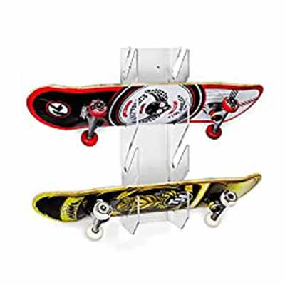 Source One Deluxe Tier Skateboard Storage Display Rack