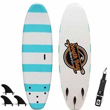 South Bay Board Co. 6' Guppy Beginner Surfboard
