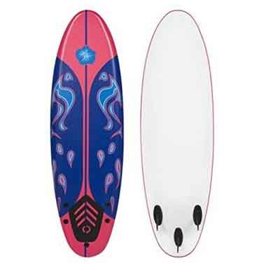 Best Choice Products 6′ Foamie Beginner Surfboard