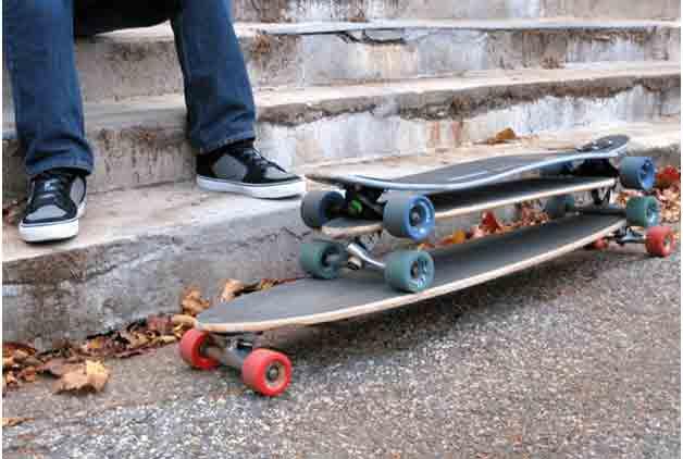 skateboard vs longboards