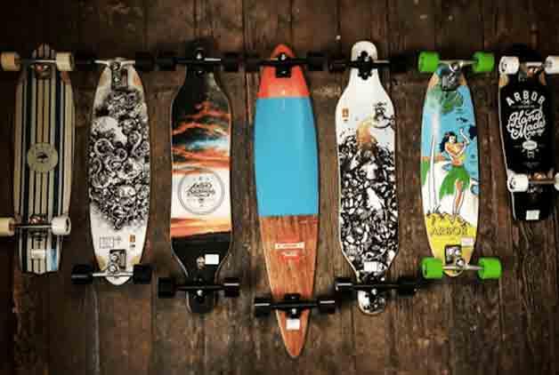 origin of skateboard and longboards