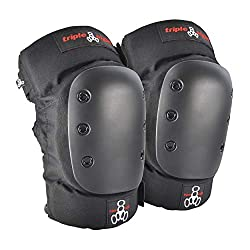 Triple 8 KP 22 Knee Pads (Black, Large)