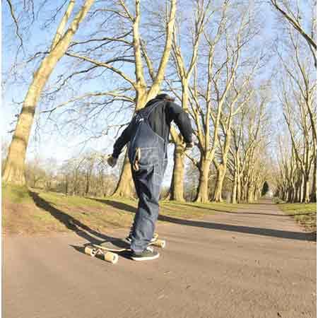 skateboard foot brake