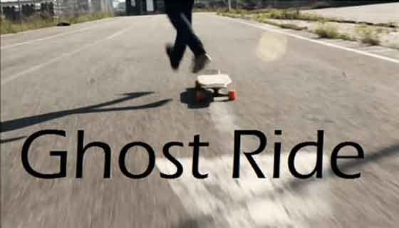skateboard ghost ride