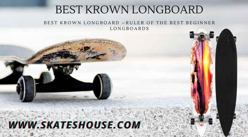 Krown Freestyle Elite Drop Through Complete Longboard