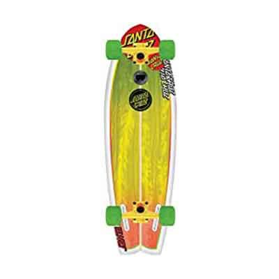 Santa Cruz Skate Land Shark Rasta Sk8 Complete Skate Boards