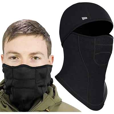 Self Pro Face Mask Ultimate Protection from Aerosols Windproof Snowboard Mask