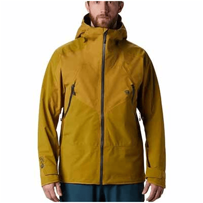 Mountain Hardwear Boundary Ridge is a snowboard jacket with HELMET-COMPATIBLE HOOD, EASILY ADJUSTABLE, LOTS OF STORAGE and many other facilities .