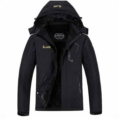 MOERDENG Men's Waterproof Ski Jacket Waterproof, Adjustable cuffs, Professional water repellent coated and more comfortable which is the best snowboard jackets.