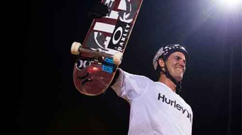 Bob Burnquist Is one of the best skateboarders of all time.