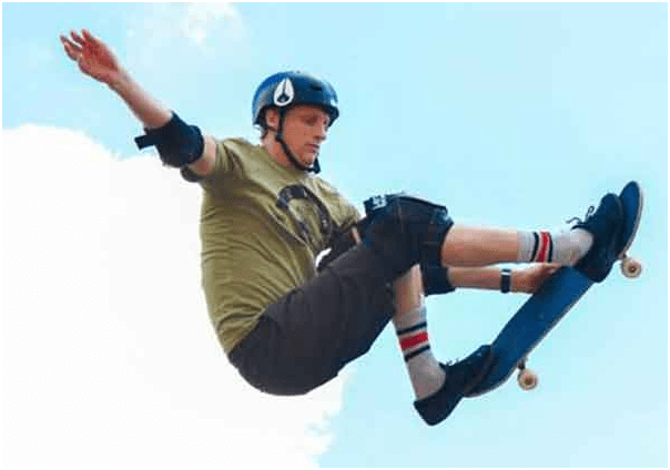 "Known as ""The Birdman"", Tony Hawk is considered one of the best skateboard players of all time."