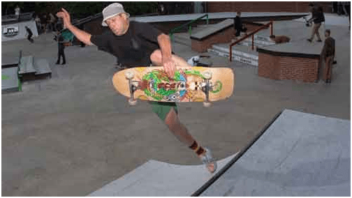 Gonzalez is one of the pioneers of the modern skateboard.