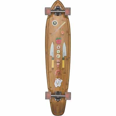 GLOBE Skateboards Byron Bay Longboard Complete Skateboard