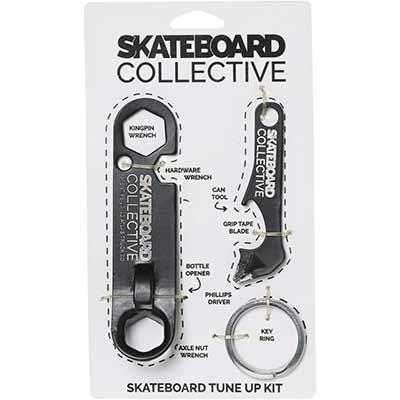 Skateboard Collective Universal Skate Tool, Skateboard Tune Up Kit