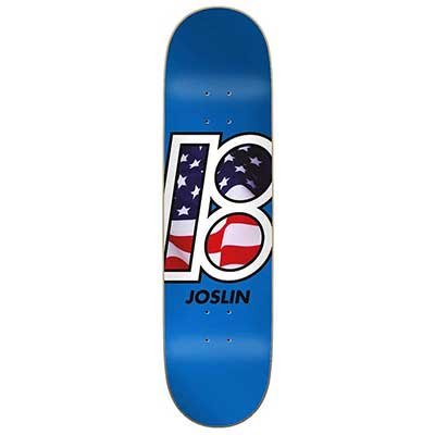 "Plan B Joslin Global Skateboard Deck - 8.25"""