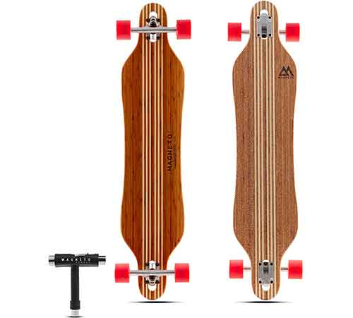 Bamboo vs maple longboard will help you to know the difference ..