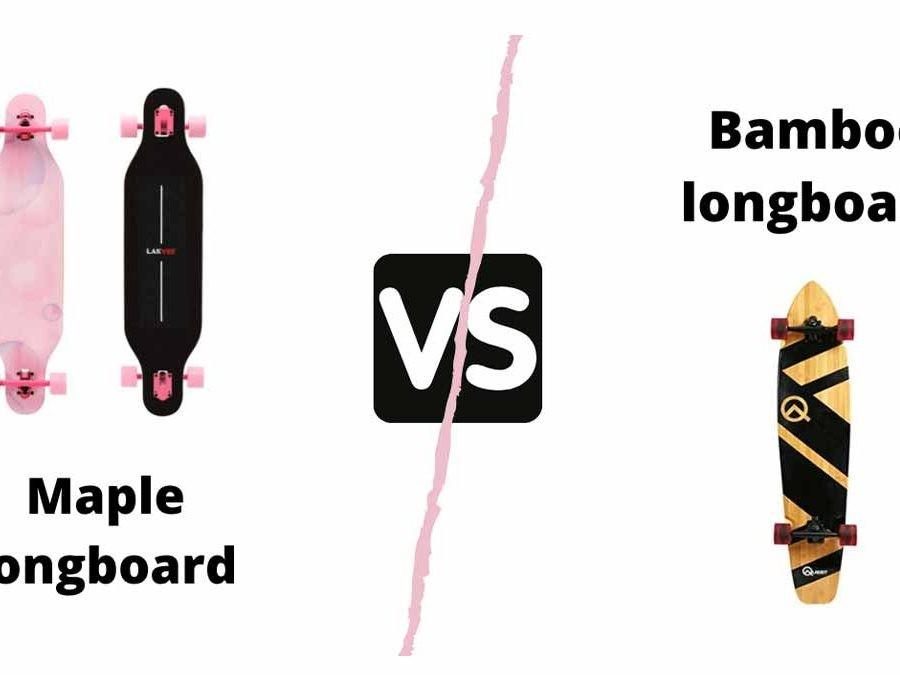 Bamboo vs mapleboard