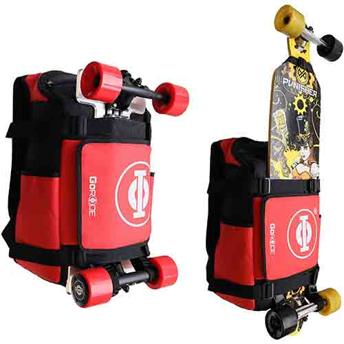 Looking for electric skate backpack?This electric skateboard backpacks can be your choice.