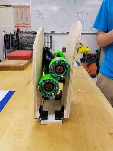 If you are looking for folding longboard, then this board up longboard is a nice foldable longboard. You can take a look at this review.